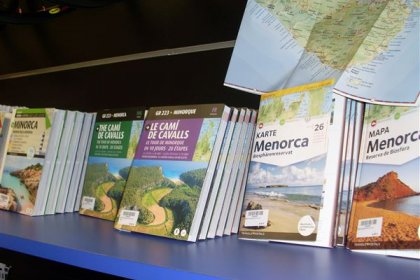 Maps and guides of Menorca